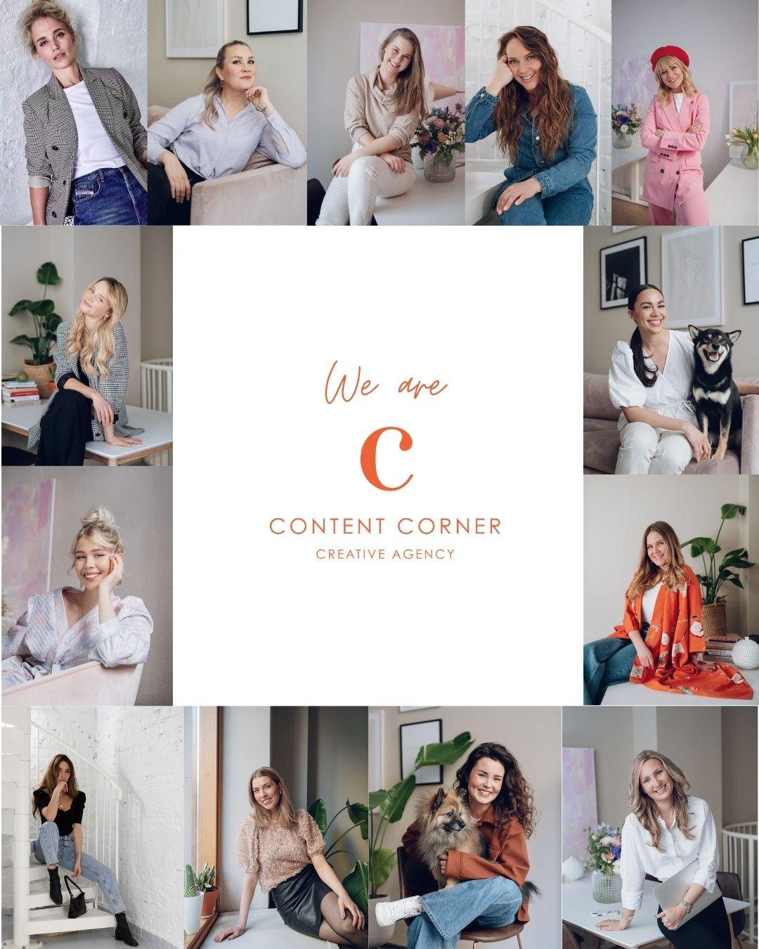 Content Corner - Creative Agency